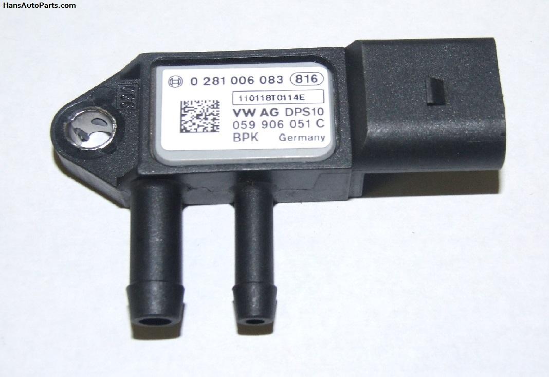 059906051c 42 Bosch Oem Vw Audi Diesel Particulate Filter Sensor 2 0 Eos Golf Jetta A6 Q5 Bosch