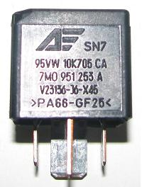M A on 85 86 87 30 Relay